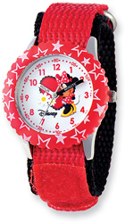 Red Minnie Mouse Watch