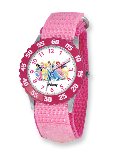 Disney Princess Watch, Pink Velcro