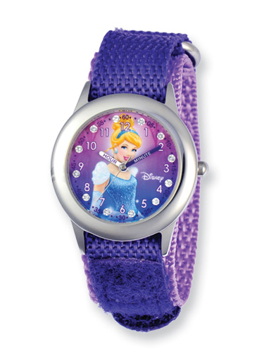 Princess Cinderella Watch, Purple