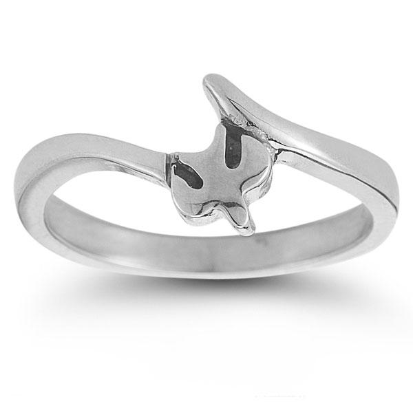 Holy Spirt ring sterling silver