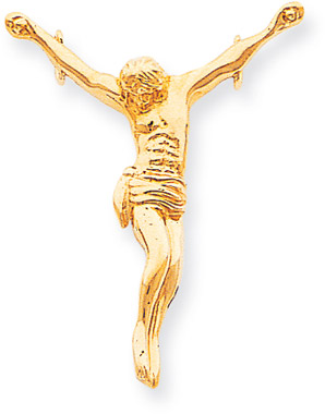 14K Yellow Gold Corpus Pendant