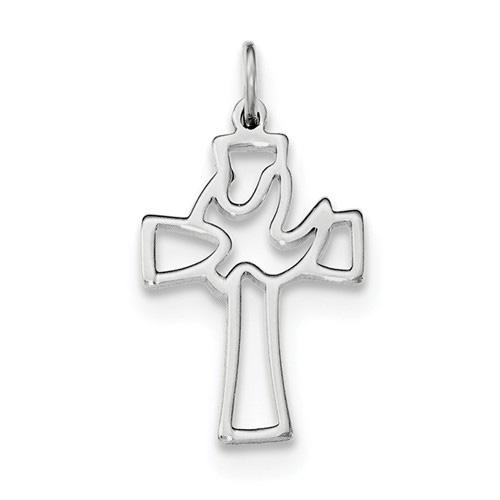 Holy Spirit of Promise Dove Cross Pendant