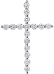 The Promise of God 1/4 Carat Diamond Cross Pendant