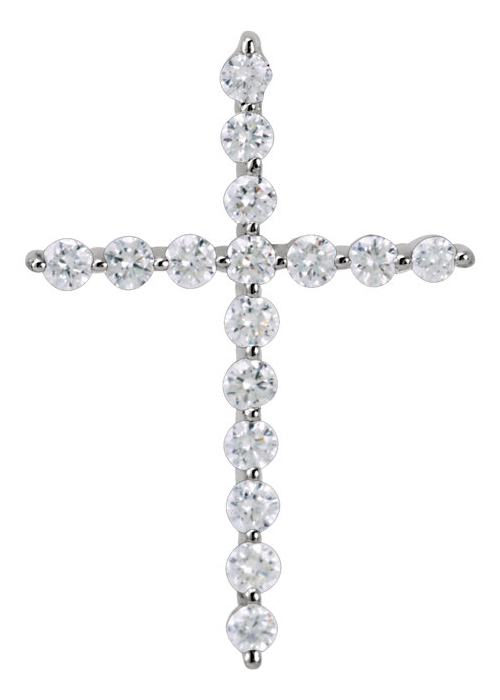 The Promise of God 1/4 Carat Diamond Cross Pendant