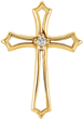 Salvation by Faith Diamond Cross Pendant
