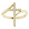 Vintage Diamond Engagement Ring Set