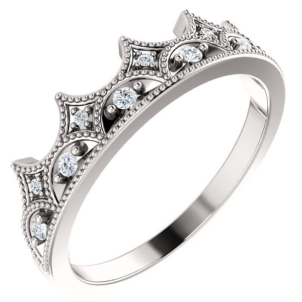 Diamond Crown of Glory Ring