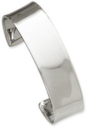 14K White Gold Cuff Bracelet