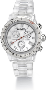 Women's Crystal Titanic GianTTo Watch with White Mother of Pearl - ONLY ONE LEFT! FINAL SALE