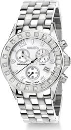 Buy Women's Stainless Steel Titanic GianTTo Watch with Diamond Bezel