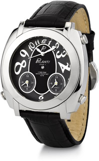 G Zone Polanti 3 Time Zone Watch