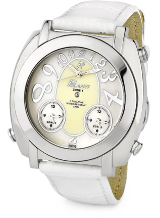 G Zone Polanti Watch, White (Watches, Apples of Gold)