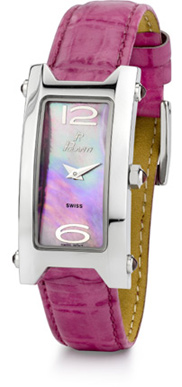 Tulip Polanti Watch, Dark Pink