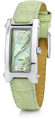 Tulip Polanti Watch, Light Green (Watches, Apples of Gold)