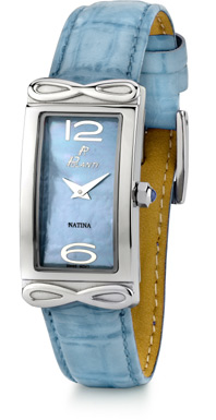 Natina Polanti Watch, Blue (Watches, Apples of Gold)