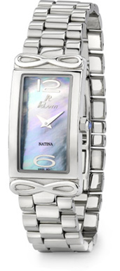 Natina Polanti Watch, Stainless Steel