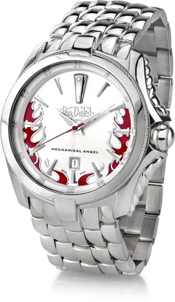 Buy Von Dutch Watch – Mechanical Angel Collection, Stainless Steel White