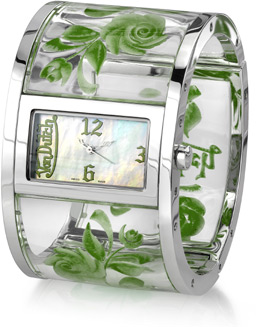Von Dutch Watch - Bangle Collection, Green (Watches, Apples of Gold)