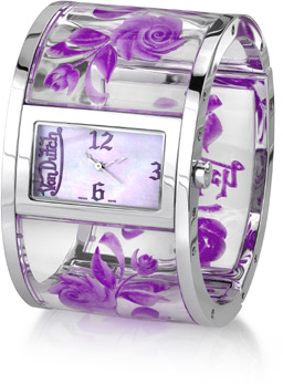 Buy Von Dutch Watch – Bangle Collection, Purple
