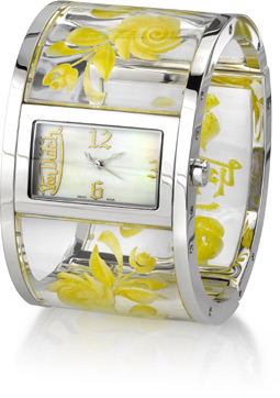 Buy Von Dutch Watch – Bangle Collection, Yellow