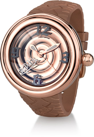 Buy Von Dutch Watch – Spiral Collection XL, Stainless Steel & Copper Silicon