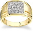 1/2 Carat Men's Designer Diamond Ring