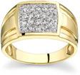 1/2 Carat Men's Designer Diamond Ring