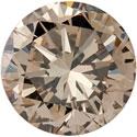 Loose 1 Carat Champagne Diamond, SI1 Clarity