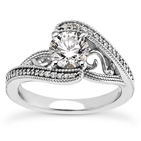 0.91 Carat Jolie Diamond Engagement Ring