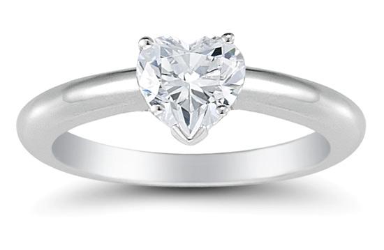 34 carat heart shaped diamond ring