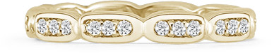 1/3 Carat Diamond Eternity Band in 14K Yellow Gold