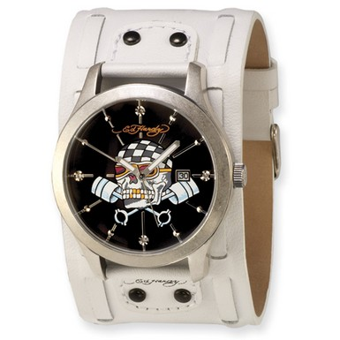 Ed Hardy Gladiator Skull Watch (Apples of Gold)