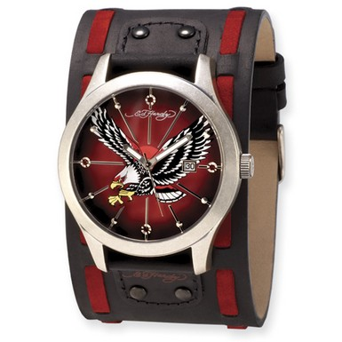 Ed Hardy Gladiator Eagle Watch (Apples of Gold)