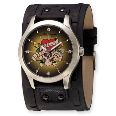 Ed Hardy Gladiator Love Kills Watch