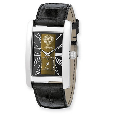 Buy Ed Hardy 1st Class Tan & Black Dial Watch