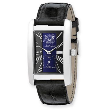 Ed Hardy 1st Class Blue & Black Dial Watch