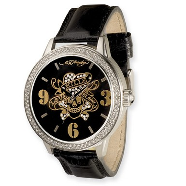 Buy Ed Hardy Apollo/Love Kills Watch