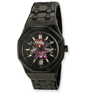 Buy Ed Hardy Industrial Love Kills Watch