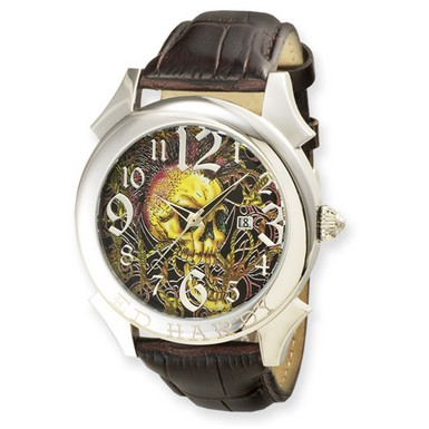 Buy Ed Hardy Revolution Brown Watch
