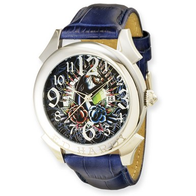 Ed Hardy Revolution Blue Watch (Apples of Gold)
