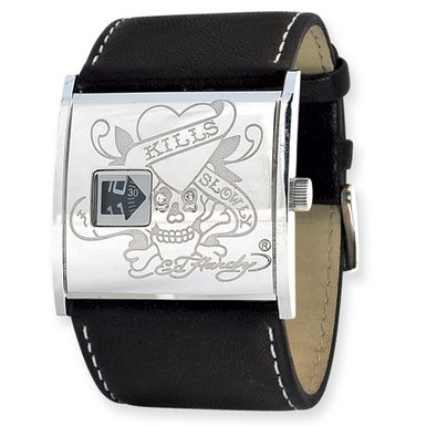 Ed Hardy Undercover Skull Watch (Apples of Gold)