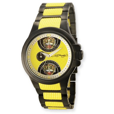 Buy Ed Hardy Speeder Yellow Watch