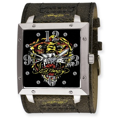 Buy Ed Hardy Warrior Tiger Watch