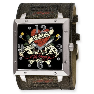 Buy Ed Hardy Warrior Love Kills Watch