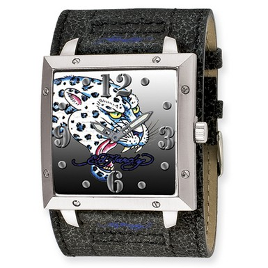 Buy Ed Hardy Warrior Leopard Watch