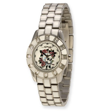 Buy Ed Hardy Chic White Watch