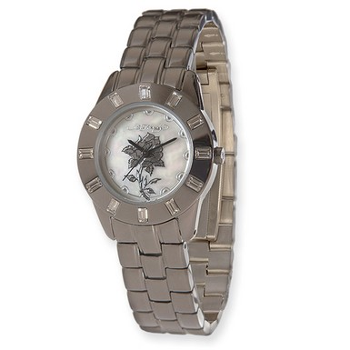 Buy Ed Hardy Chic Silver-Tone Watch