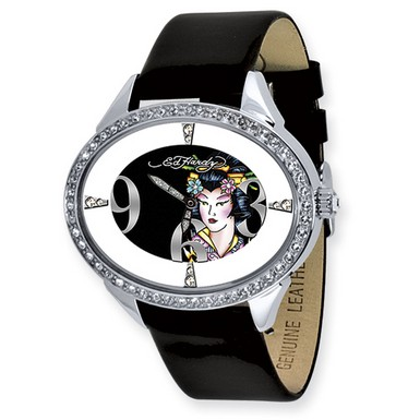 Ed Hardy Show Girl Black Watch