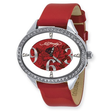 Buy Ed Hardy Show Girl Red Watch