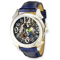 Ed Hardy Revolution Blue Watch